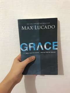 Grace - Max Lucado (Christian book)