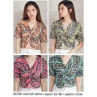 Twistop batik