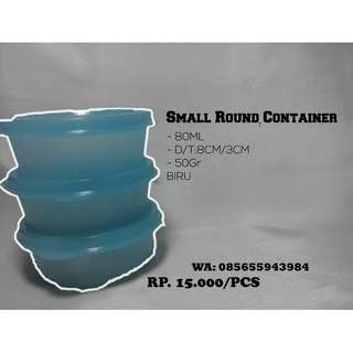 TUPPERWARE SMALL ROUND CONTAINER