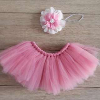 Tutu dress with headband
