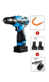 Brand new 25v 25 volts cordless drill lithium battery