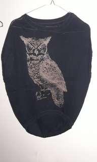 Triset shirt burung hantu