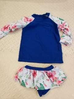toddler girl swim suit