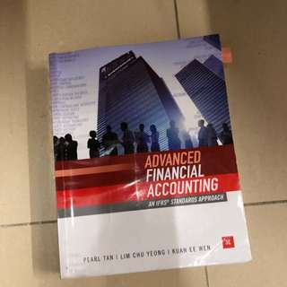 AC3102 Advances financial accounting Textbook