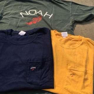 🚚 Noah 口袋短t深藍