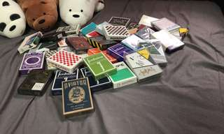 RARE CARDISTRY PLAYING CARDS