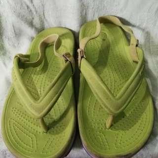 Crocs Kids Sandals / Slippers C10 - C11 green