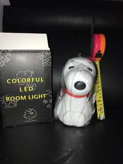 Snoopy colourful led room light