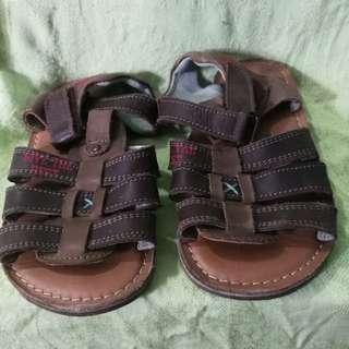 Okaidi Leather Sandals for Kids size 27