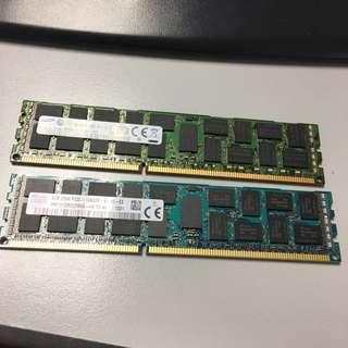 SERVER NEW RAM : 16 GB DDR3 SERVER RAM ( 8 GB x 2 pieces )