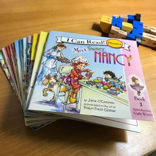 I Can Read Phonics - Fancy Nancy