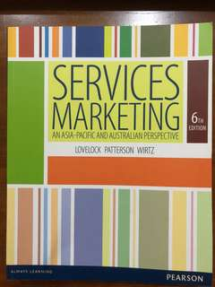 Service Marketing Textbook