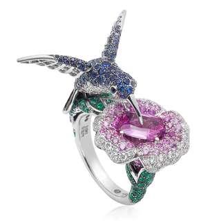 Boucheron鑽石戒指