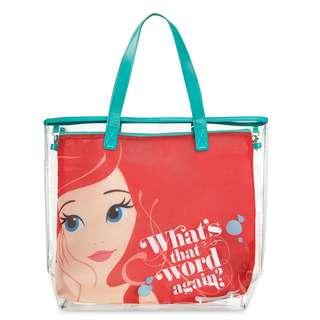 Yvonne MJA美國迪士尼Disney商品預購區 美人魚夏日時尚防水雙層透平提包 肩背包