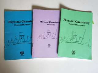 Alevel Chemistry Workbooks