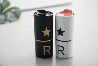 🆕Starbucks Reserve® 10oz Ceramic Traveler - Black/White