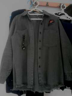 H&M army outer