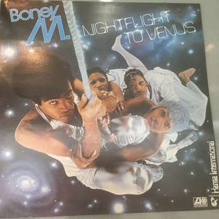 Boney M. ‎– Nightflight To Venus, Vinyl LP, Hansa ‎– K 50498, 1978, UK