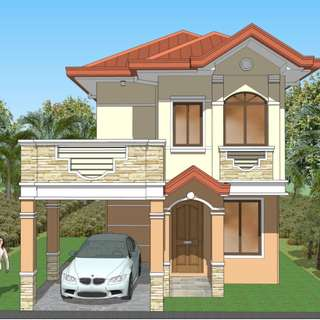 House and Lot in Cresta Verde Exec Subd. 132sq.m lot Area Customized Design