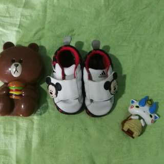 Adidas Prewalker Shoes Disney Mickey Mouse 6-12 months