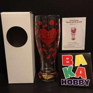 草間彌生 Yayoi Kusama Love Forever 水杯 高約18.5cm