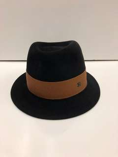 Nearly New Chanel black and brown hat