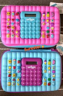 Smiggle Calculator Hardtop Pencil Case