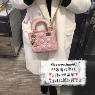 🇮🇹米蘭代購🇮🇹Lady dior bag mini