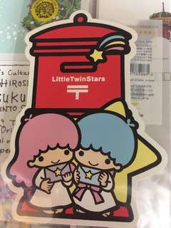日本郵政 twin star 40th 週年紀念postcard