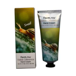 # 127 Farm Stay Visible difference snail Hand cream