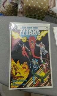 DC New Teen Titans 1 comic
