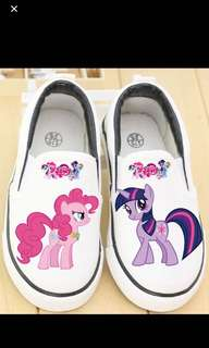 PO My Little Pony Cover shoe size 23-29 And to adult size also brand new