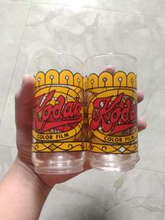 Kodak Color Film Collectible Glasses