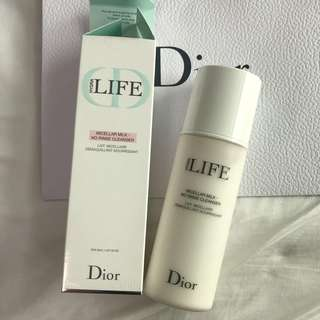 Almost New FULL SET Dior micellar milk cleanser