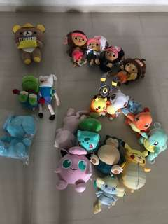 Various Soft toy for sales!