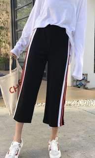 Korean wide-leg pants
