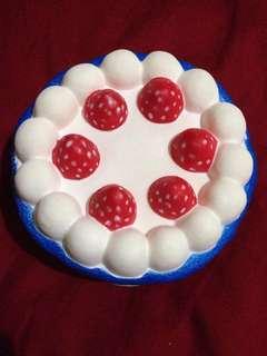 Jumbo Blue Cake Squishy