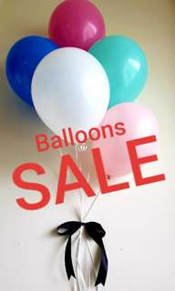 LET'S PARTY! HELIUM BALLOONS PROMOTION!