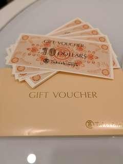 Takashimaya Gift Vouchers ($500)