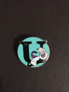 Disney pin Ursula