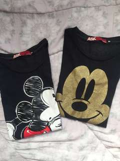 Mickey Mouse Shirt Bundle