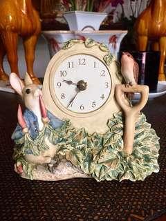 "Beatrix Porter ""Peter Rabbit"" Clock"
