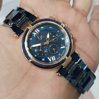 GC Rose Gold Blue 38mm All Stainless Steel