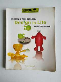 Used Design and Technology textbook for lower secondary