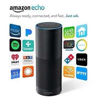Amazon Echo (1st Gen) Black