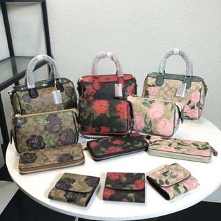 Coach Camo Rose series