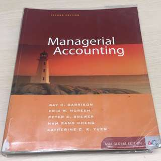 Managerial Accounting, Asia Global Edition 2e, McGraw-Hill, 2015