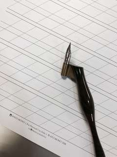 Calligraphy Practice Sheets with guide lines! Bleed-proof.
