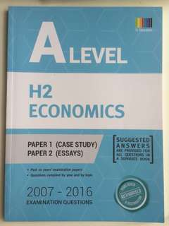 BRAND NEW A Level H2 Economics Ten-Year Series