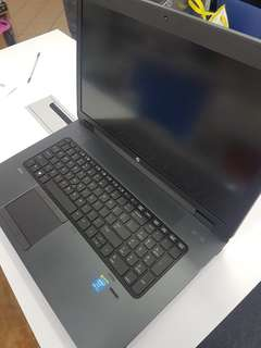 "Pre Owned HP ZBook 17"" Laptop with Nvidia K610"